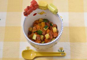 野菜の自家製ケチャップ和え